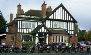 Club Ride Outs @ Clifford Arms | Great Haywood | England | United Kingdom